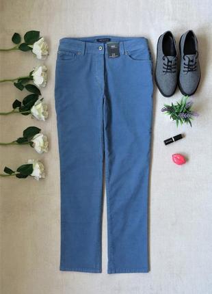 Вельветовые зауженные джинсы