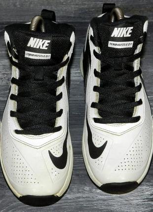 Nike team hustle ! оригинальные, кожаные невероятно крутые кроссовки