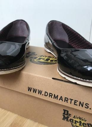 Оригинальные dr martens туфли лодочки