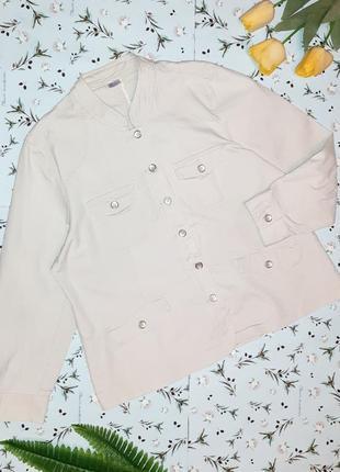 Акция 1+1=3 базовая джинсовая куртка джинсовка на осень damart, размер 52 - 54