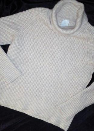 Madeleine свитер шерсть,вискоза,кашемир   размер м
