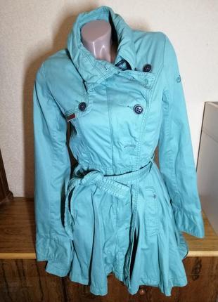 Пальто пояс юбка