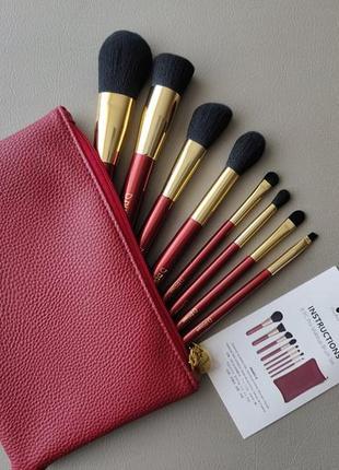 Набор кистей для макияжа ducare 8 pcs pro makeup brush set
