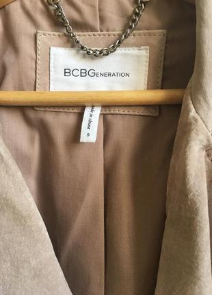 Тёплая замшевая куртка пудрово-розового цвета.6 фото