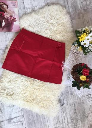 Красная/мини-юбка 🌹