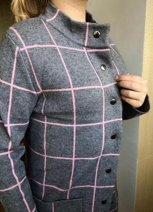 Стильне пальто-кардиган
