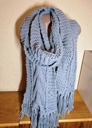 Шарф вязаний