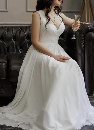 Срочно! идеальное свадебное платье!