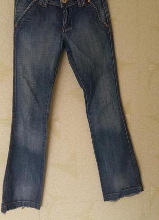 Итальянские джинсы клешь