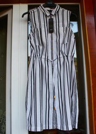 Новое, лён, платье, плаття, сукня, рубашка, сорочка, в полоску