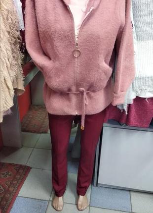 Куртка пальто жакет альпака ангора шерсть