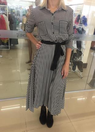 Платье женское, шёлк италия