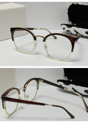 Очки для имиджа оправа для вставки линз!