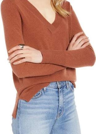 Шерсть кашемир , шикарный свитерок свободного кроя