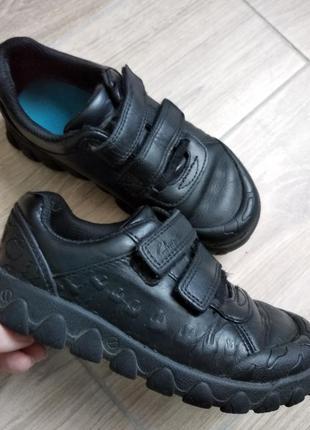 Clarks кожаные кроссовки