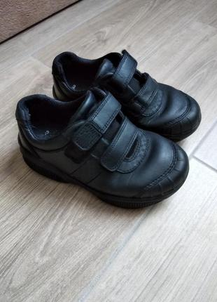 Clarks кожаные кроссовки со светоотражателями