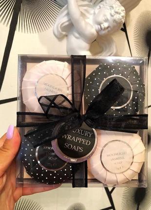 Подарочный набор парфюмерного мыла анг бренда moonlight