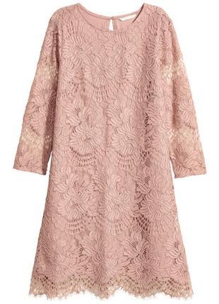 Изумительное гипюровое платье