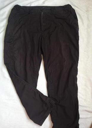 Утеплённые муж брюки на подкладке 3xl (56-58)