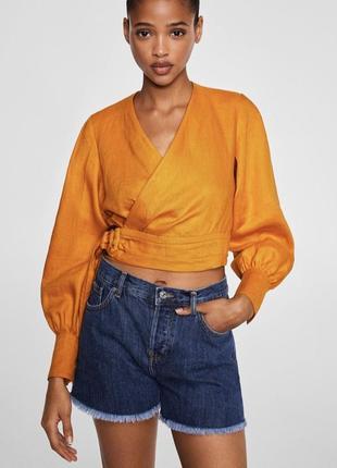Новые джинсовые шорты mango