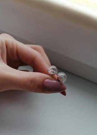 Серьги серёжки кульчики гвоздики