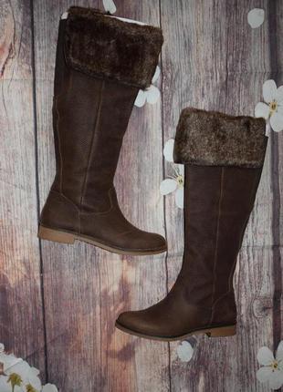 Новые сапоги из натуральной кожи lucky brand из usa megasale 36 - 23 cm