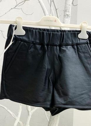 Кожаные шорты moss оригинал