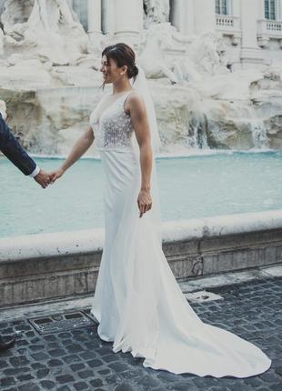 Свадебное платье коллекция 2019г.италия