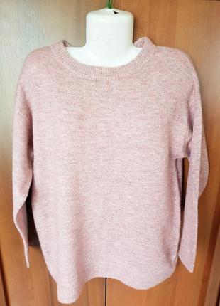 Шерстяной свитерок-джемпер размера 50-52.