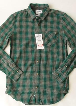 Рубашка фланель pull&bear с, м