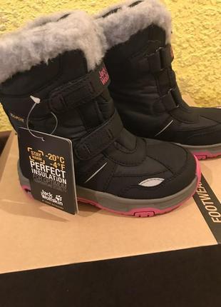 Jack wolfskin snow shoes оригинал термо ботинки на морозы мембрана