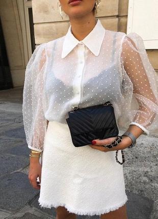 #розвантажуюсь блуза из органзы