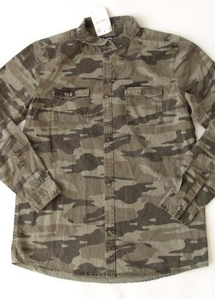Рубашка c&a 9-10, 11-12, 13-14, 14