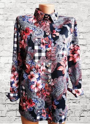 Блузка рубашка в стиле dg