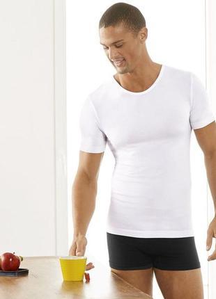 Мужская футболка в рубчик livergy германия р. хл европ.