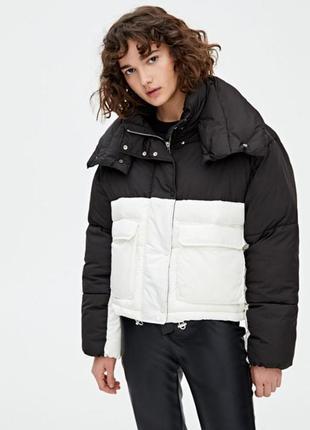 Куртка puffer pull and bear