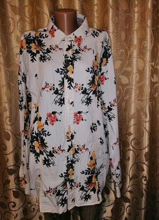 🌺🎀🌺стильная женская белая блузка, рубашка в цветочный принт joe browns🔥🔥🔥