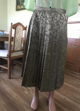 Шелковая юбка на подкладке