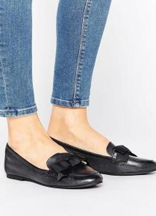 Кожаные комфортные балетки туфли от aldo