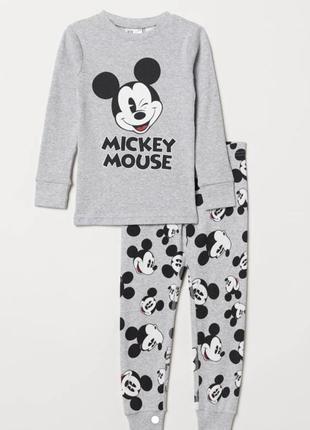 Пижама на мальчика с микки от h&m, размер 6-8 лет