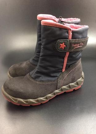 Superfit зимові термо чобітки