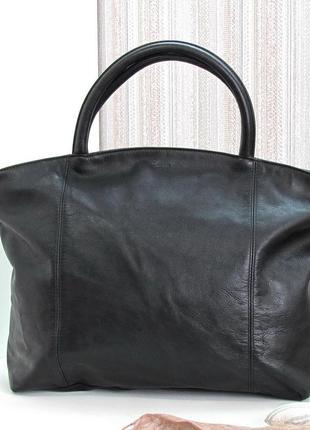 Практичная сумка picard, германия, натуральная кожа