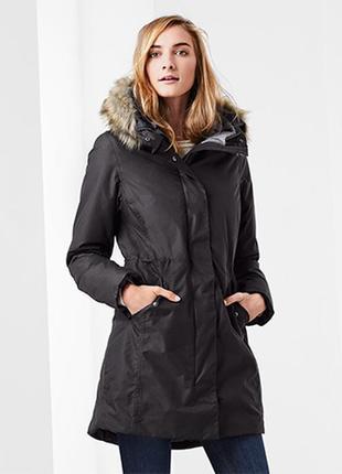 Термо-парка, пальто зима, xs-s 36, на мембране 3000 мм tchibo, германия