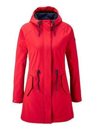 Softshell куртка-парка на флисе 38 euro весна-осень tchibo, германия, термо пальто