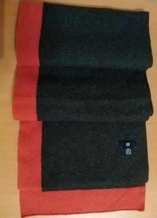 Шикарный шерстяной шарф gap