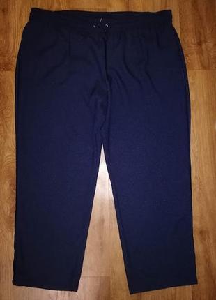 🔥🔥🔥стильные женские синие брюки, штаны 22 р. marks & spencer🔥🔥🔥