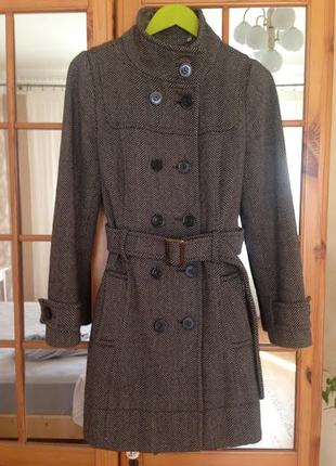 Пальто шерстяное topshop (london)