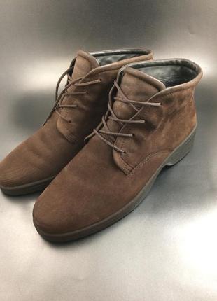 Ecco шкіряні демі черевики