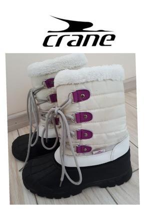Водонепроницаемые зимние сапоги crane