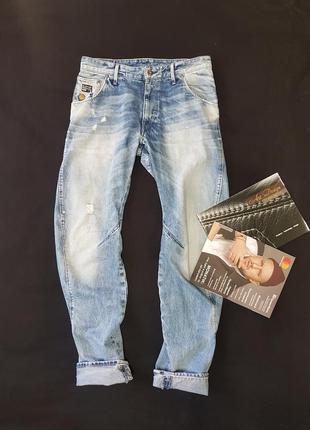 Крутые мужские джинсы бананы от g-star raw